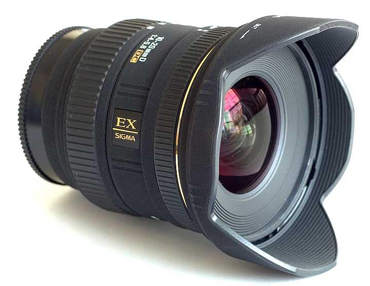 Sigma 10-20 f4-5.6 para Nikon