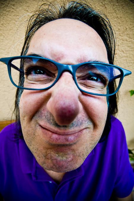 Nose Close Up