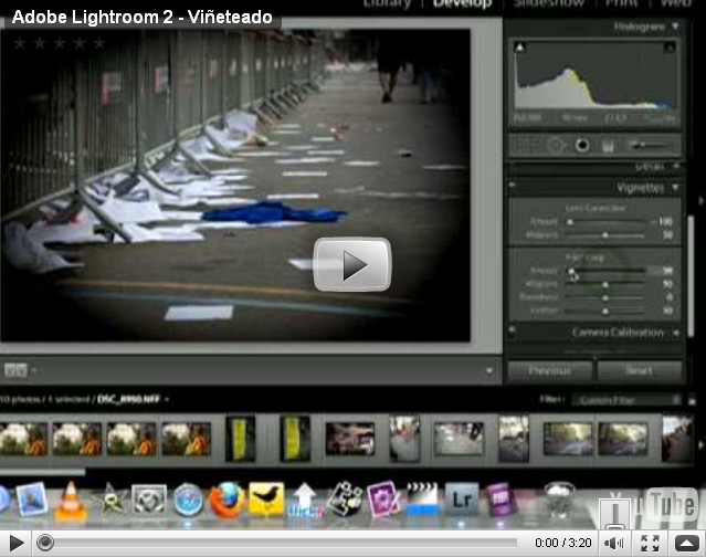 Adobe Lightroom 2 – Viñeteado