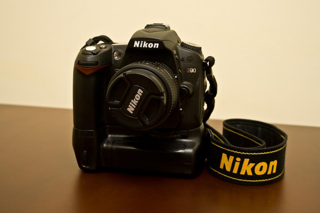 Grip MB-80 para la Nikon D90