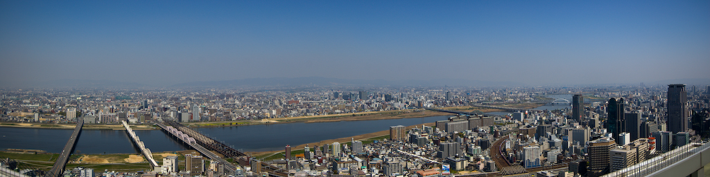 Panorámica de Osaka