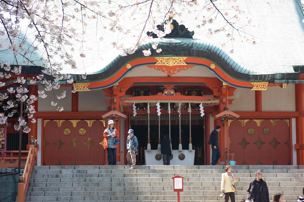 Pequeño templo de Tokyo