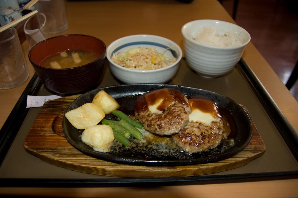 Hamburguesa de Ueno