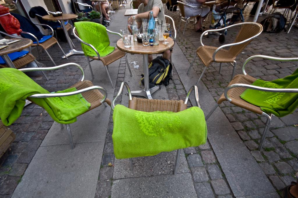 Bares y Mantas en Copenhague