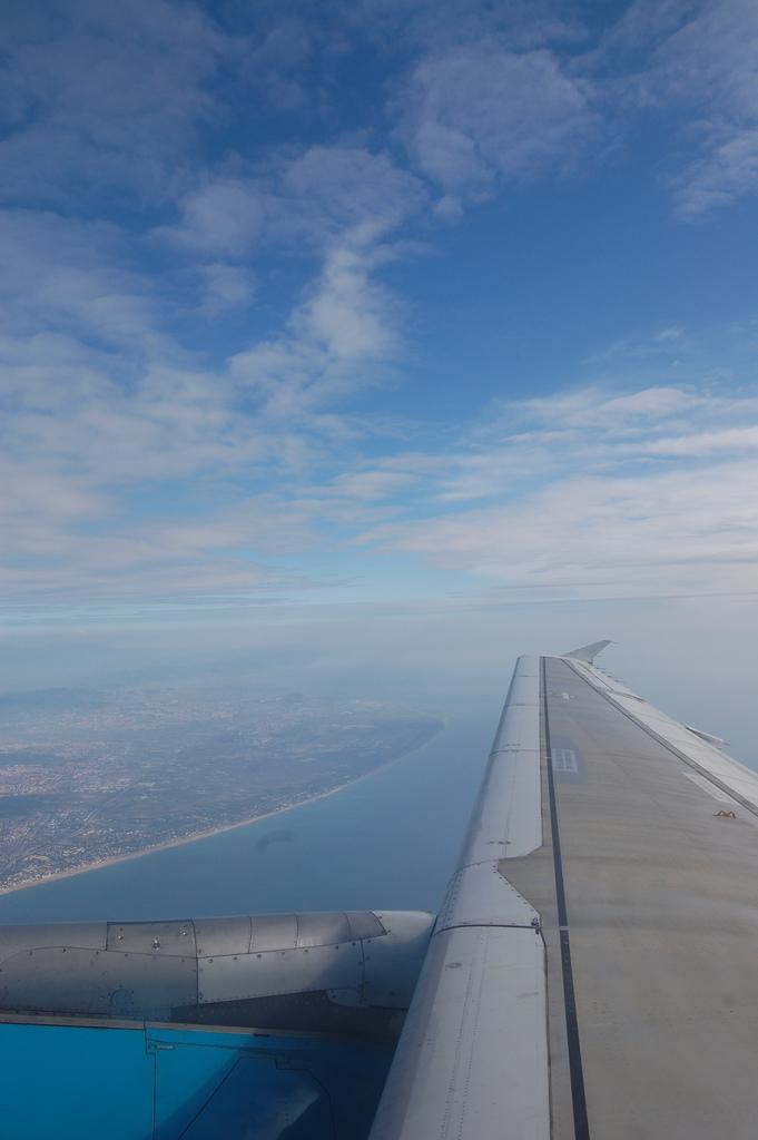 Volando a Portugal