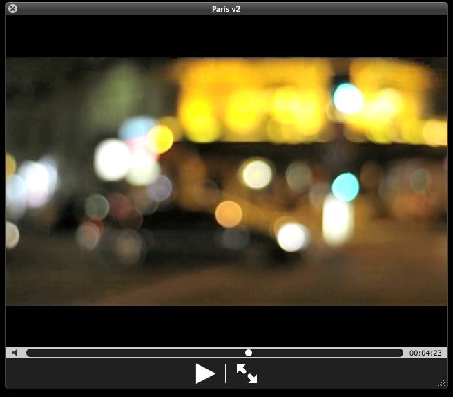 Vídeos desde París
