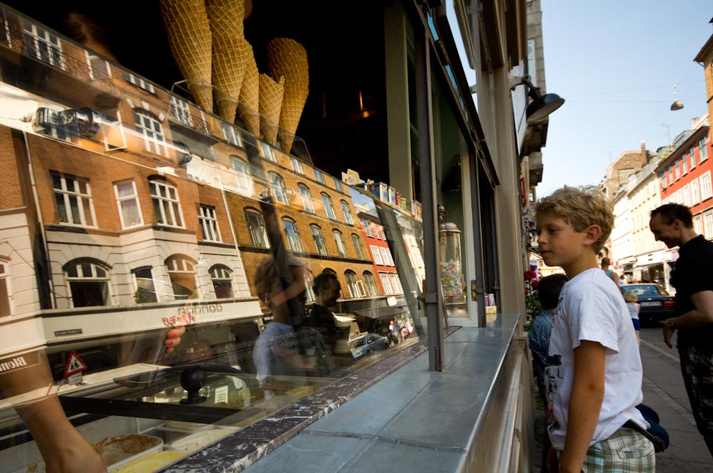 Pasteles y Helados en Copenhague