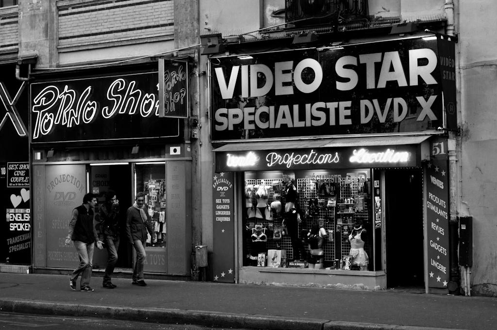 Sexo y Lujuria en París