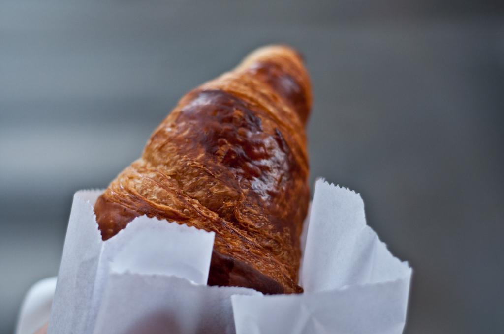 Croissant en París