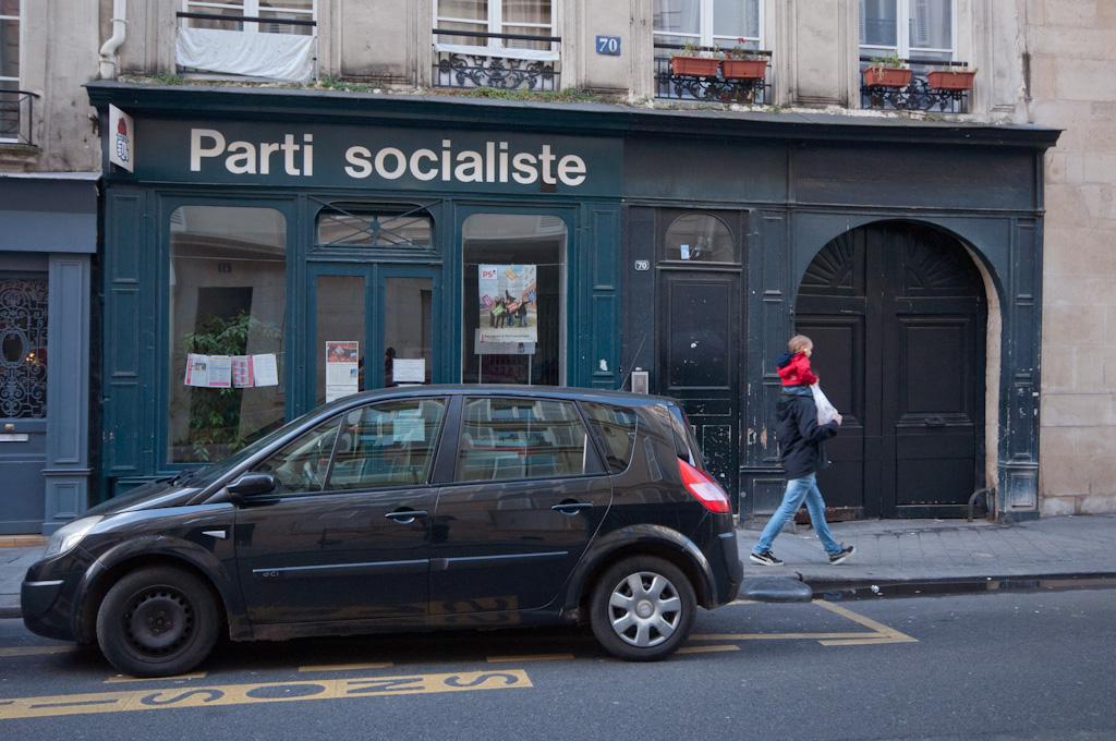 Parques y edificios parisinos