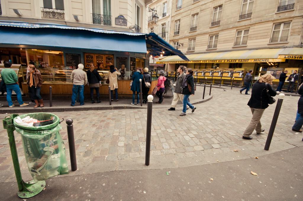 Por el centro de París