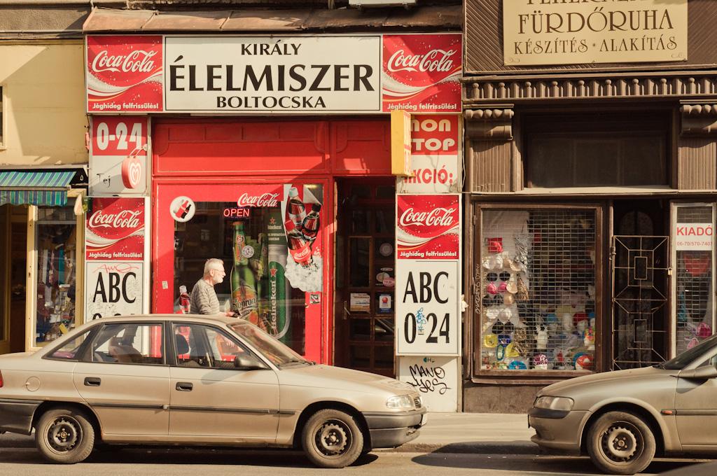 El barrio judío de Budapest
