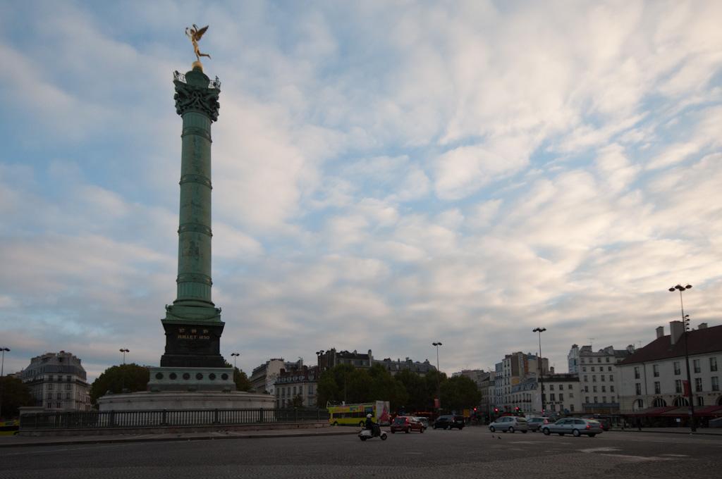 Plaza de la Bastilla – París