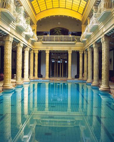 Baños Gellert – Budapest