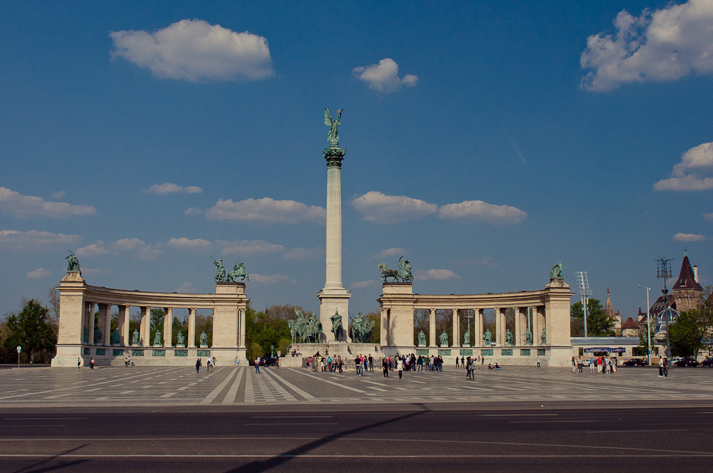 Plaza de los Héroes – Budapest