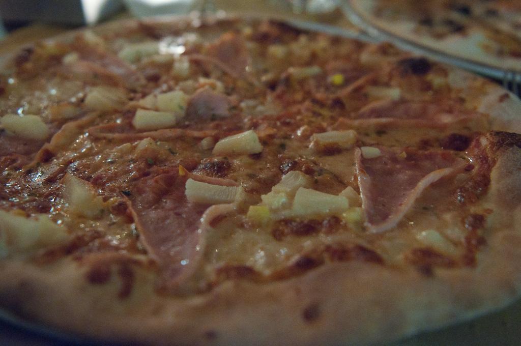 Pizzas en Budapest