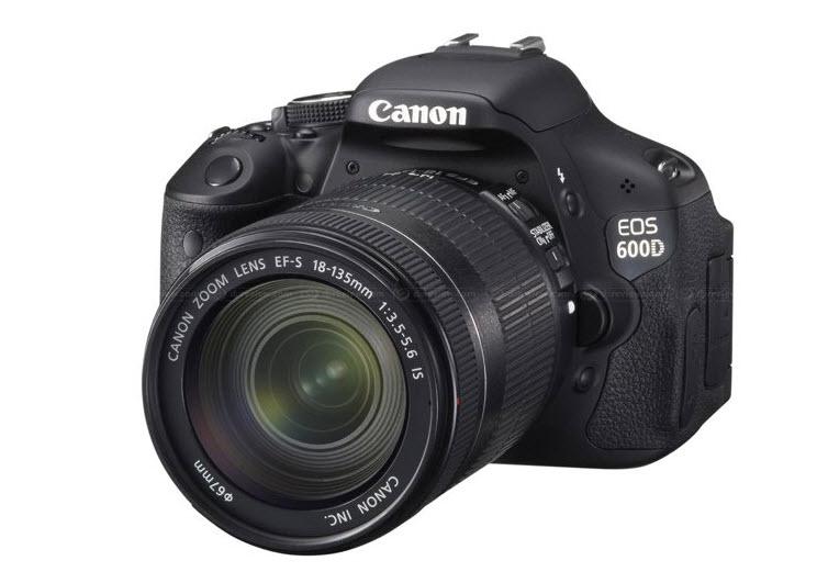 Canon sortea una 600D
