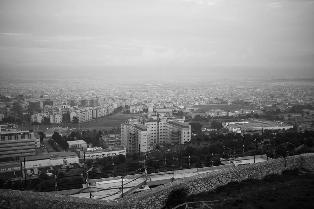 Cagliari desde el castillo – Cerdeña