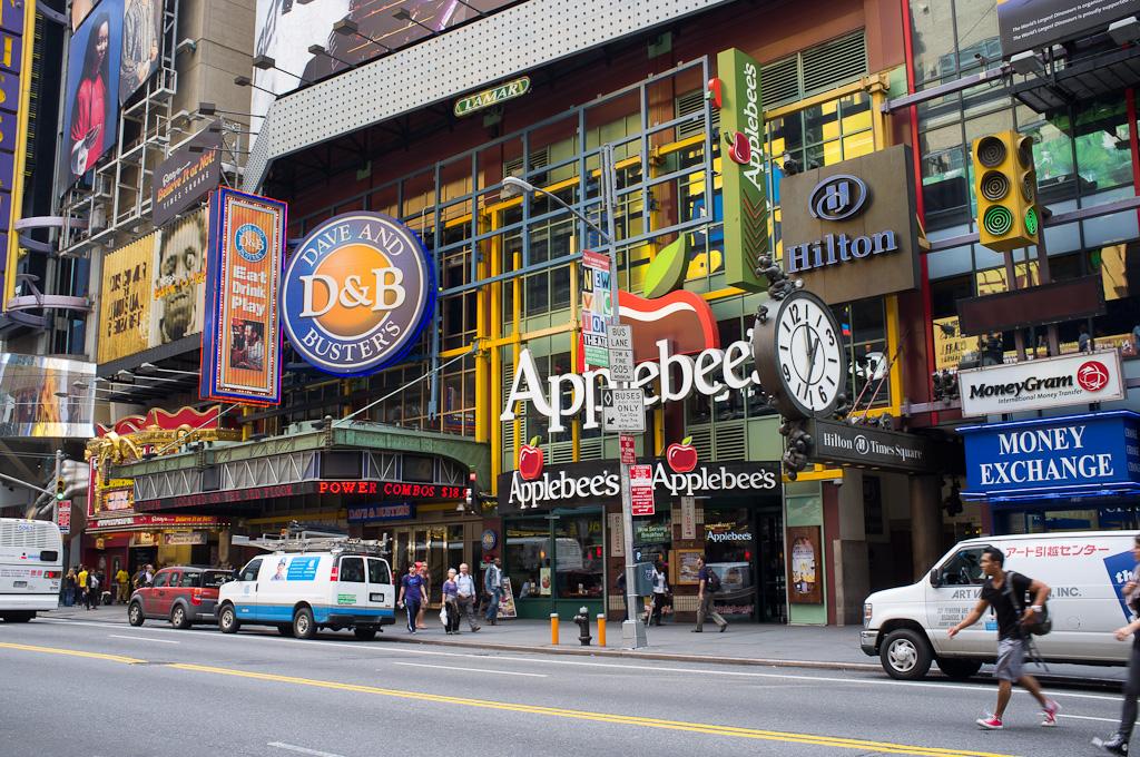 Times Square de día – Nueva York