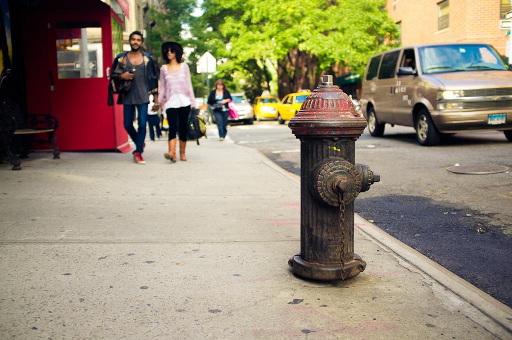 La boca de incendios – Nueva York
