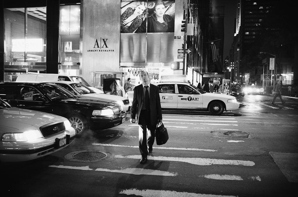 La noche en Manhattan – Nueva York