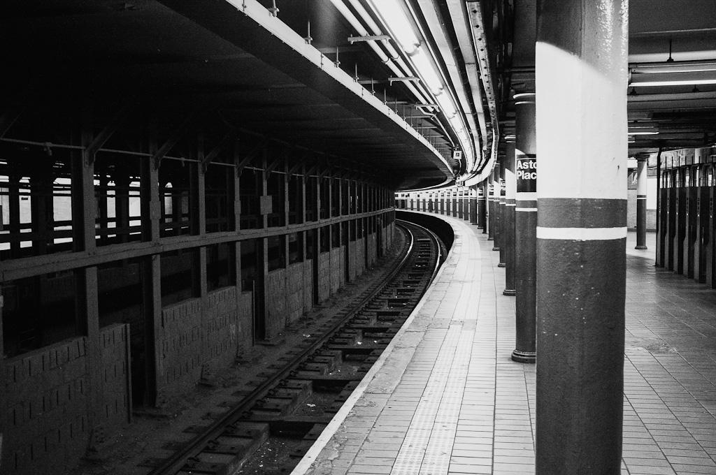 3 en el metro de Nueva York