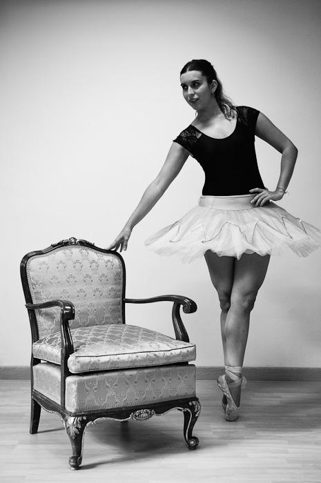 Sesión de ballet
