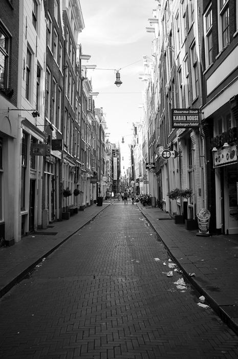 Entrando en el barrio rojo – Amsterdam