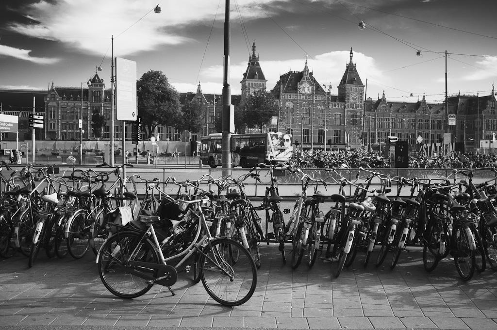Bicis, bicis y más bicis – Amsterdam