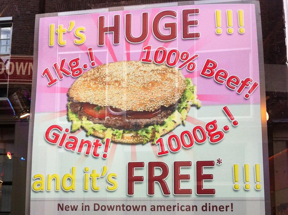 Super Giant Burger
