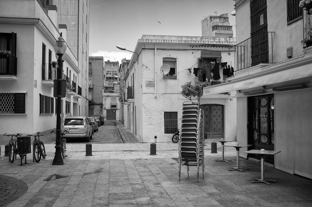 Fotografías del barrio del Poblenou de Barcelona