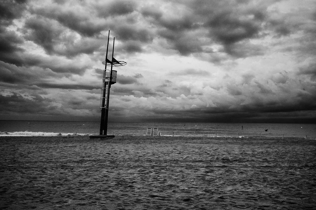 Playa de Calafell, mayo 2013