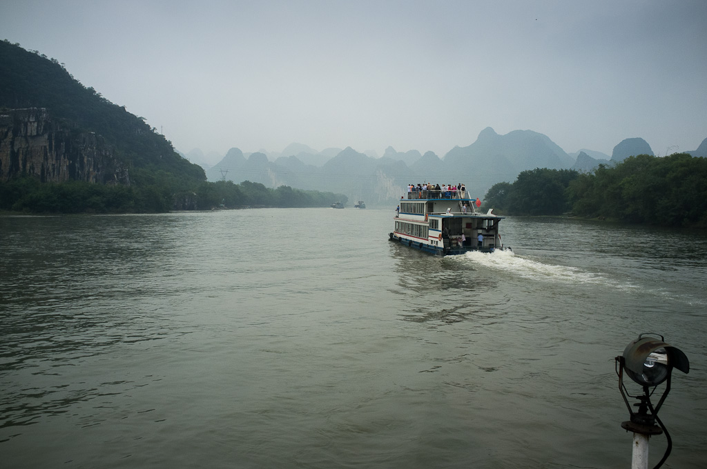 Fotografías del río Li en Guilin – China