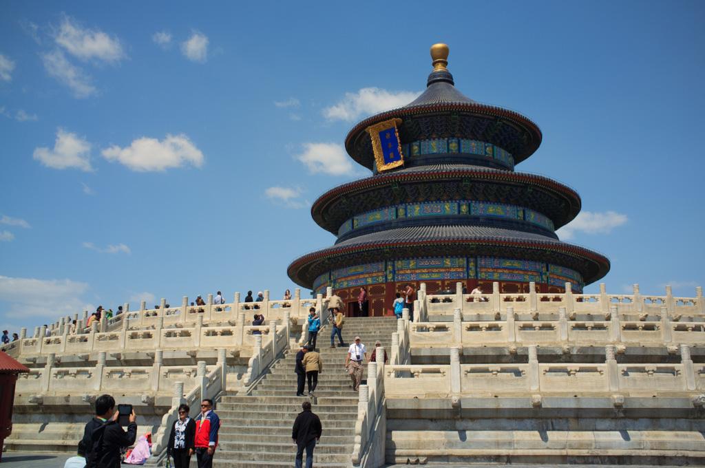 Viaje a China – El templo del cielo en Pekín