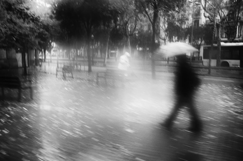El invierno ha llegado a Barcelona