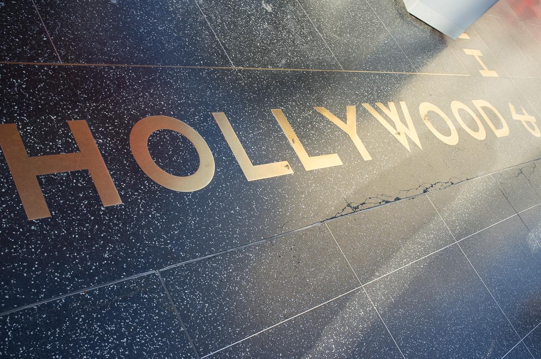 Hollywood Boulevard, el paseo de la fama en Los Angeles