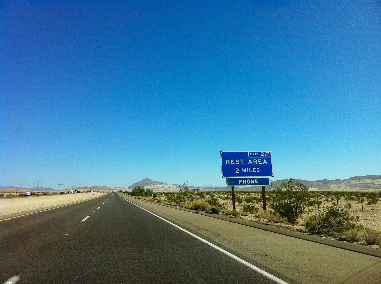 Taco Bell en medio del desierto de Arizona
