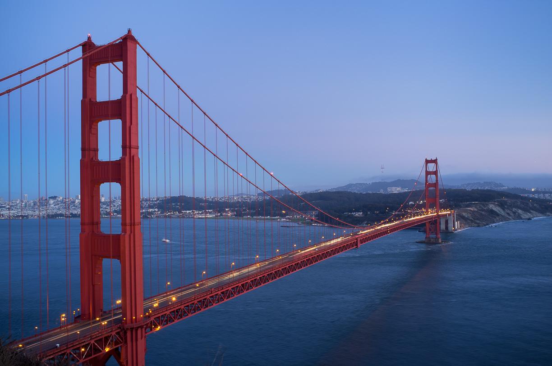 El Golden Gate Bridge en San Francisco