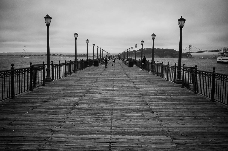 Paseando por los muelles de San Francisco