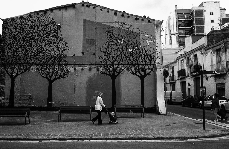 Árboles Pintados – Barcelona