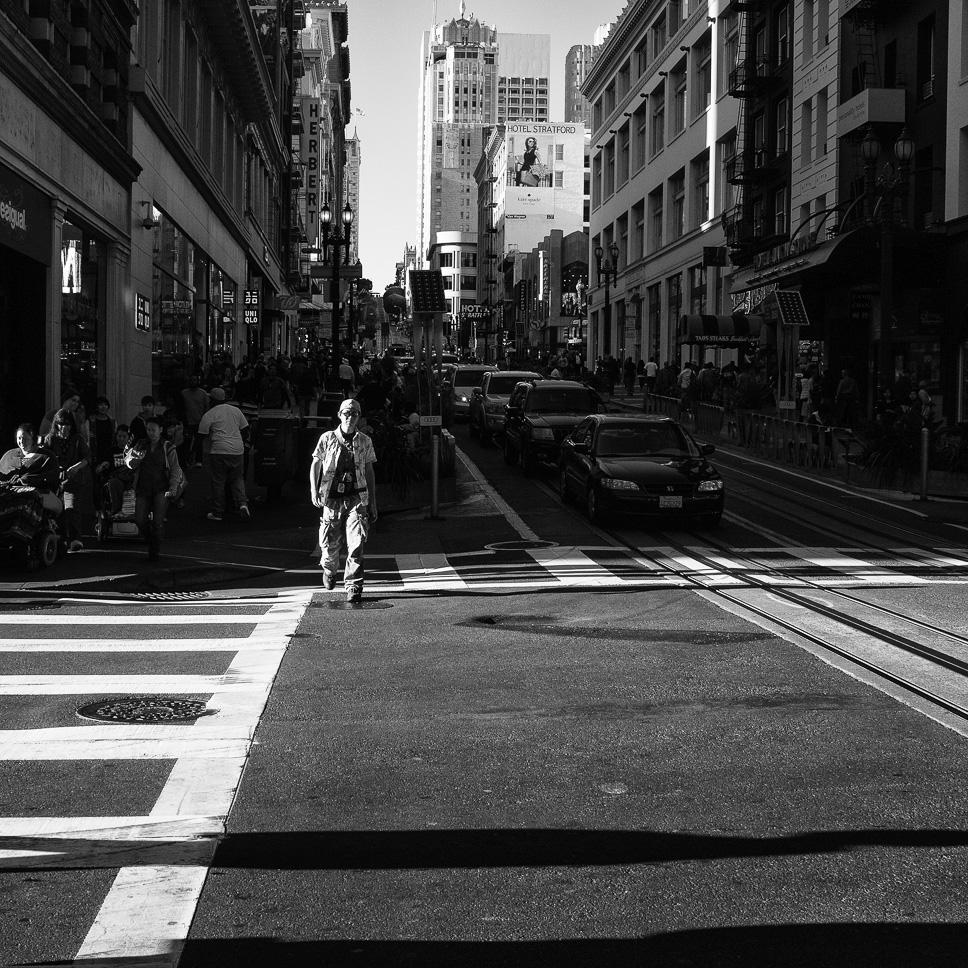 Bullicioso Cruce de San Francisco