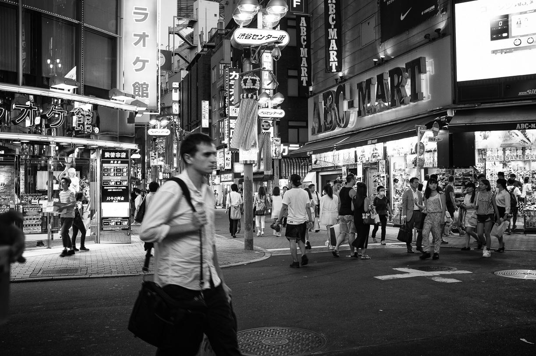Cenando en Shibuya – Tokyo