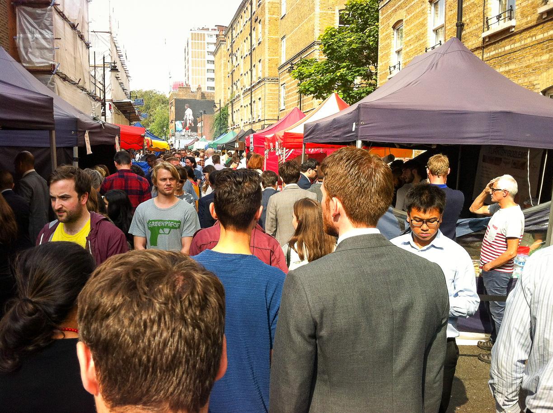 Londres: ¿Comer fuera o en la oficina?