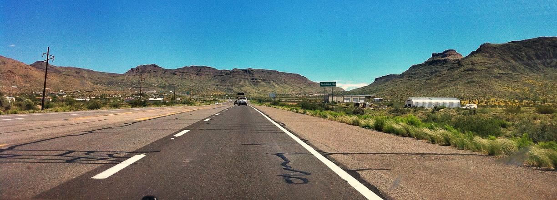 Las infinitas carreteras de California, Estados Unidos