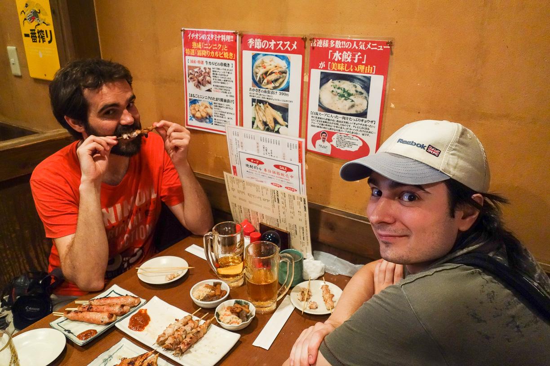 De Tapas con Fotógrafos Japoneses en Tokyo