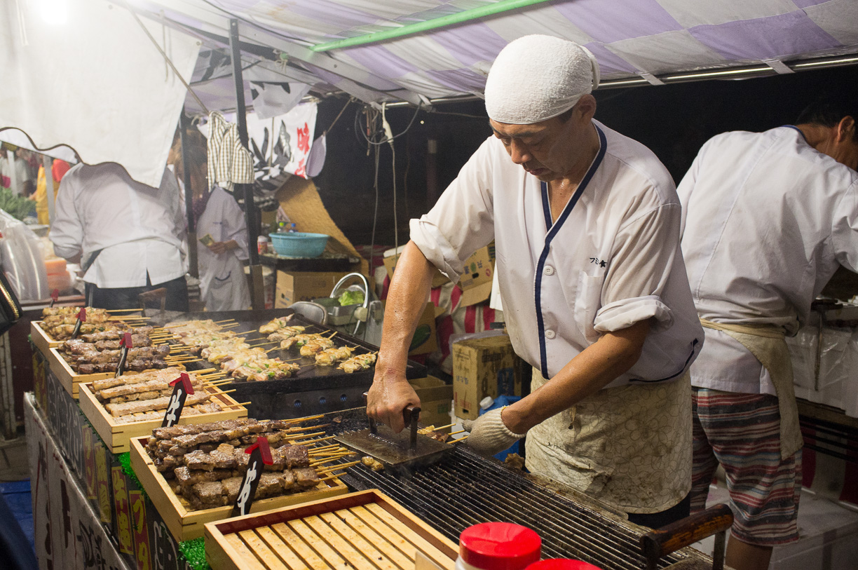 Viviendo un auténtico festival japonés en Nara