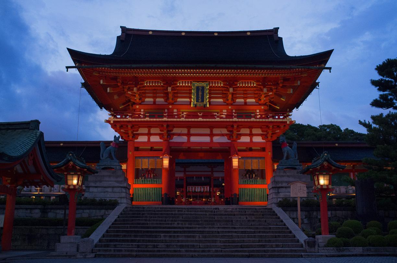 Volviendo a visitar el Fushimi Inari en Kyoto, Japón