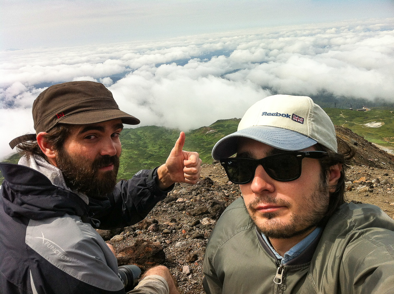 Subimos a 2291 metros el Monte Asahidake en Japón