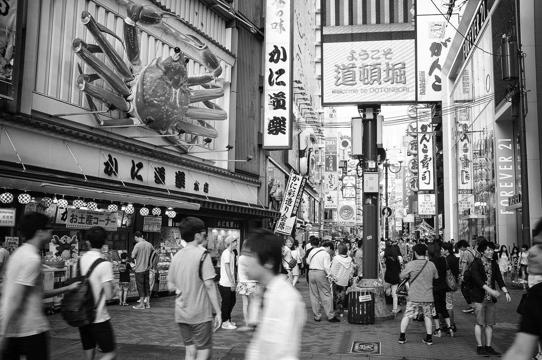 Una visita fugaz a Osaka, Japón