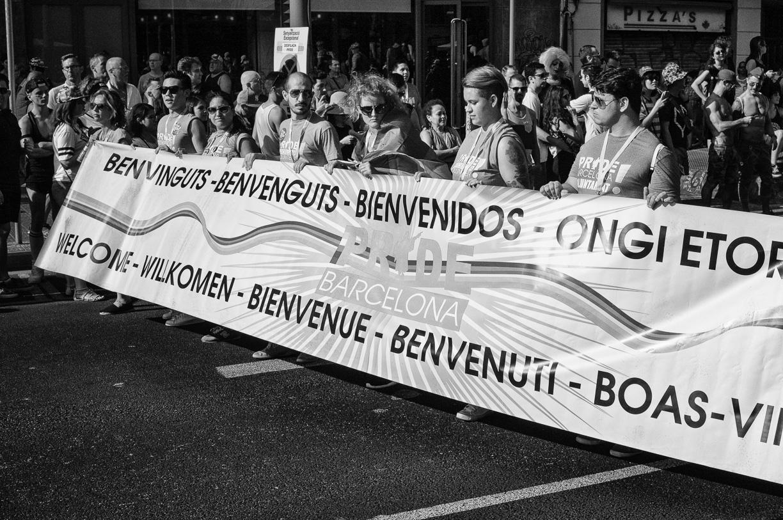 Fotografías desfile Pride Barcelona 2015